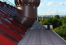 Lomanco realisations - roof tiles etc.