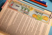 Leviticus Bible Journaling