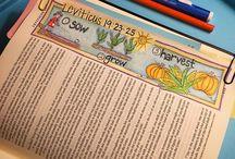 Leviticus Bible Journaling