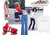 Denim / Zoom sur le jean, incontournable du quotidien, porté en all over ou en touches inspirantes / by Vogue Paris