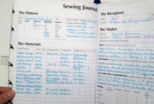 How to create a sewing journal