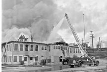 Long Beach Fireman's Historical Museum Collection / This collection contains negatives and photographic prints documenting the history of the Long Beach Fire Department.