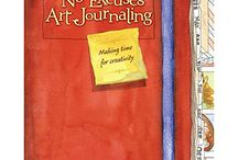 Art Books / Journaling, Watercolor, and Mixed Media Techniques by Gina Rossi Armfield of www.noexcusesart.com