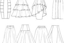 DRAWING SKIRT