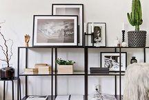 Vignettes: Open Shelves/Bookcases