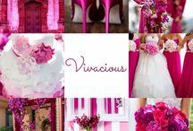 wedding color/pink