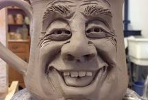 clay faces