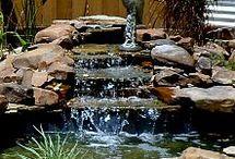 cascadas de jardin