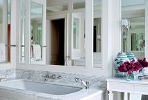 ADG - Sea Cliff Bathroom Redux / A gathering of crisp images to inspire the transformation of a san francisco bathroom.