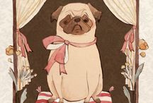 pugs / by Kelly Cheatle
