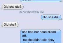 random laughs