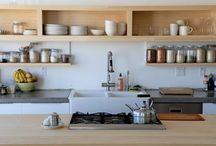 открытыеполки кухня