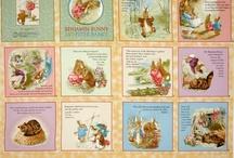 cloth book panels