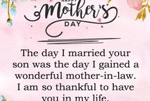 Mother's Day Cards for Mother-in-Law