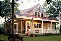 Farmhouse plans / by Natalie Barnes Jones