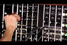 Moog Modulars / At the 2015 NAMM Show, the zZounds crew was wowed by Moog's mighty modular synthesizers -- the System 55, System 35 and Model 15. Hand-built to the original 1973 specifications, these monster analog synths let you create brand-new sounds from scratch -- old-school style. Now, zZounds is proud to give our customers the opportunity to own one.