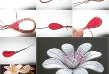 цветы пружинки