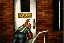 the Far Side cafe / My prescription for curing an off the wall sense of humor. / by Annette Ashbaugh