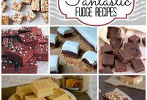 chocolade en fudge