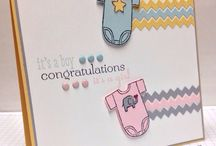 Baby Cards / Baby card inspiration