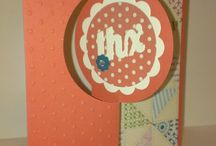 Thinlet cards from Stampin Up / by Lora Hayes-Albert
