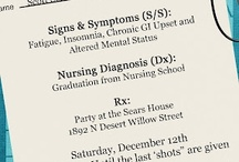 Nursing Grad Invitations / by Amber Ealey