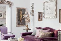 Sofa Violet Living Rooms