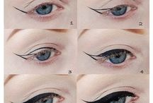 Cat's Eye-Liner Tutorials / From ultra-defined to ultra soft and feathery for the braver over-40 eyelid to try!