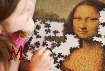 Art - Mona Lisa/Leonardo da Vinci / by Elisha Ganoe Pepperman