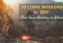 2017 Weekend Destinations