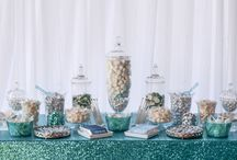 Teal + Turquoise School Formal Candy Bar