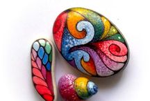 Malovane kameny