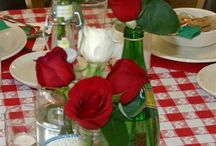 Italian themed party / by Donna Rosso Najera