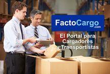 FactoCargo / La empresa asturiana FactoCargo www.factocargo.com ha lanzado al mercado la primera plataforma del mundo que resuelve definitivamente dos de los grandes problemas entre los transportistas: la elevada morosidad y la falta de liquidez.  / by Impronta Comunicación