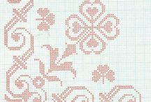 kaneviçe havlu şablonları