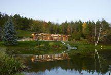 Eco-Friendly +HOUSE in Mulmur, Ontario, Canada by Superkül Inc Architect