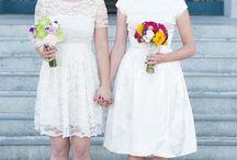 Bouquet de mariée mairie