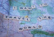 around the world... / by Amber Rettke