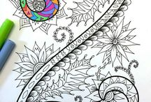 letras zentangle