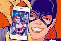 Comics illustrations / Illustrazioni dal mondo dei comics