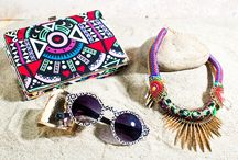 Bohemian Treasures / Elevate your summer looks with wild and free wanderlust-ready accessories!  / by A'GACI
