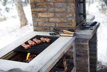Diy grill/steinovn