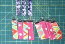 Key chain  / Fabric material