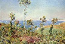 Monet / Storia dell'Arte Pittura  19°-20° sec. Claude Monet  1840-1926