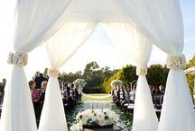 Wedding Aisles, Canopies and Chuppahs