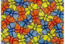 MC Escher Tessellations Lesson Plan