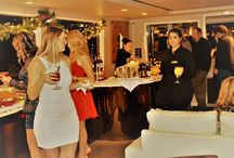 """2016 Holiday Party - """"MOJO"""" / CLP celebrated 2016 holiday party aboard the """"MOJO."""" A yacht docked in Newport Beach. Company leadership, Realtors and affiliates came together to celebrate and enjoy holiday lights of Newport harbor."""