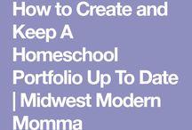 Homeschool/ portfolio....