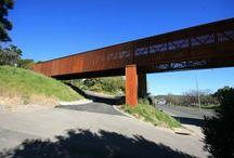 Pedestrian Bridges / Puentes Peatonales y entornos asociados