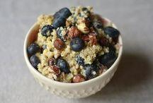 Whole Grain Cereals / Hot cereal, porridge, granola, and homemade baby cereals